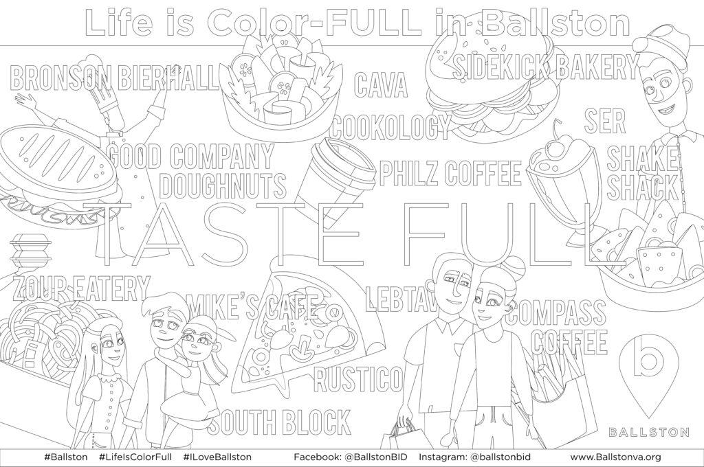 Ballston Coloring Contest Www Ballstonva Org